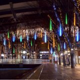 木の装飾のための太陽動力を与えられたLEDの流星シャワーライト