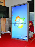 Écran tactile d'affichage à cristaux liquides de contact d'affichage numérique de système d'exploitation Windows de support de mur