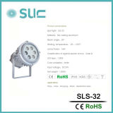 16Wセリウムのレポートを用いる銀製の円形LEDの点ライト