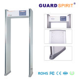 Bank-Zugriffssteuerung-Türrahmen-Metalldetektor LCD-Bildschirm-Sicherheits-Metalldetektor