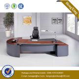 Tableau rouge de bureau exécutif de placage de bureau de tailles importantes de noix (HX-RD3133)