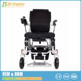 sedia a rotelle portatile leggera di alluminio di potere piegata 5-Second
