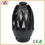 Chama de LED com lâmpadas LED de alto-falante Bluetooth portátil ao ar livre chama LED LED acende a lâmpada de chamas
