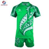 Dernière conception de maillots de rugby pour les Maoris Sportswear Sublimation Rugby Shirt personnalisé