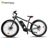 Bicicleta eléctrica de la montaña con la batería de litio de Samsung