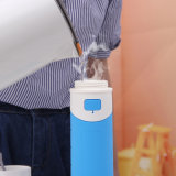 Silicona plegable Double-Walled 500ml botella de vacío para los viajes