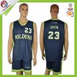 Directa de Fábrica de último diseño suave para adultos traje de baloncesto