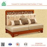 Import-Möbel von China passen Wohnzimmer-Schnittcouch, L-förmiges Schnittsofa des Fabrik-direktes Verkaufs-Einteiler-MOQ an