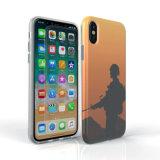 Caisse molle de téléphone de l'impression faite sur commande TPU d'IMD pour l'iPhone X