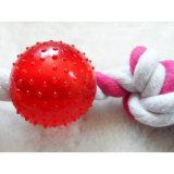 Descuento nueva golosina TPR Ball y de la cuerda de remolcador dog toys