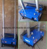 Automatique pour le mortier de la colle de mur plâtrant la machine de garniture de rendu