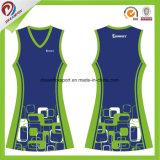 Projetar barato o desgaste do Netball do vestido dos uniformes do Netball das mulheres do esporte de equipe