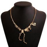 Collana Pendant di scheletro del dinosauro, ultima collana di disegno