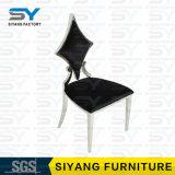 [أنتيقو فورنيتثر] أسود جلد [دين رووم] كرسي تثبيت مأدبة كرسي تثبيت