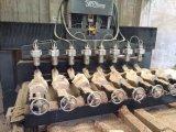 4 Mittellinie rotierender hölzerner schnitzender CNC-Fräser