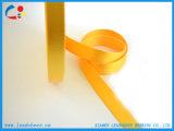 Breit Verbrauch-Weiche gesponnener heller gelber Nylonmaterial-Beutel-Riemen