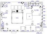 Duo du faisceau 3 d'Intel/carte mère quarte Hm87 du faisceau 3