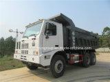 Sinotruk HOWOダンプトラックオフロード70トンの420HP鉱山の