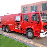 De Vrachtwagen van de Brandbestrijding van de Tank van het Schuim van het Water van Sinotruk HOWO 6X4 20cbm