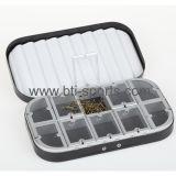 10 compartiments & Fly case de la mousse d'ondulation