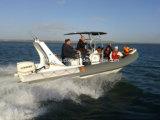 Liya de alta velocidad de 6,6 millones de botes inflables rígido Rib barcos de pesca