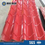 Gewölbte Stahlbleche für Dach-/Wand-Dekoration färben