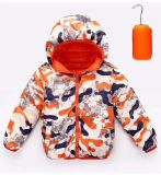 既製の新式の可逆子供の冬のジャケット