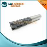 Flautas HRC45-68 do cortador 4 do moinho de extremidade do carboneto