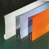 China-Lieferanten-Puder-Mantel-feuchtigkeitsfeste dekorative Aluminiumdecke