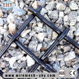石のための55鋼鉄高炭素の編まれた鋼鉄網