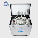 Mini equipo dental médico portable de la unidad