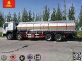 Caminhão de tanque do fuelóleo de Sinotruk HOWO 8X4 25m3