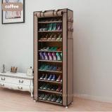 Equipamento para Engraxar os Sapatos de armário de racks de grande capacidade de armazenamento de dados móveis domésticos DIY Rack Sapata portátil simples (FS-03E)