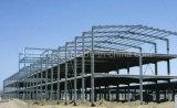 Supermercado resistente de la estructura de acero del bajo costo/centro temporal grande de la oficina/de exposición