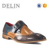 Wenzhou人のための熱い販売法の本革の偶然靴