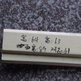 Decoración interior casera Hn-8075 del poliuretano de la PU de la cornisa de la PU que moldea
