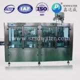 Installation de mise en bouteille recouvrante remplissante de lavage de l'eau carbonatée