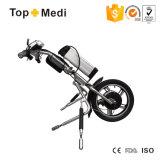 Reboque elétrico Handcycle da movimentação de potência dos jogos da conversão da cadeira de rodas da E-Bicicleta Tew003