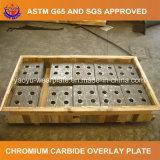 Plaque élevée d'usure de chrome pour l'acier d'exploitation