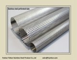 Tubo perforato dell'acciaio inossidabile dello scarico di SS304 76*1.2 millimetro