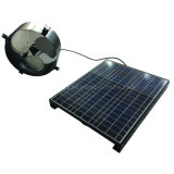 Ventilación solar 15W de 12 pulgadas desván almacén ventilador ventilador de extracción