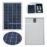 20 Watt 12 Volt-polykristalliner Sonnenkollektor für weg von Boot der Rasterfeld-Batterie-Aufladungs-RV