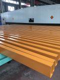 노란 고품질을%s 가진 색깔에 의하여 그려지는 직사각형 강철 관