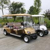 Новая модель 6-местный электрического поля для гольфа Тележки транспортные средства на продажу