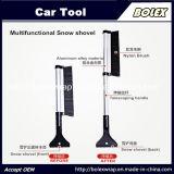 Лопата снега Multi-Functional телескопическая рукоятка снега Ice скребок лопаты 2 в 1