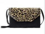 女性イブニング・バッグのヒョウパターン女性PUの革ハンドバッグ女性の標準的な党袋(WDL0963)