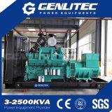 25kVA à 500kVA ouvrent le groupe électrogène diesel silencieux de Cummins