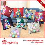 Горячая продавая конструкция рождества украшения с СИД освещает подушку для партии
