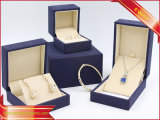 Cadre de papier de bijou d'or de bijou de luxe de papier de caisse d'emballage