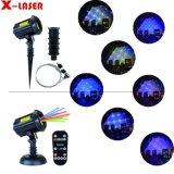 庭レーザープロジェクター、Xmasのレーザー光線、小型レーザー光線プロジェクター